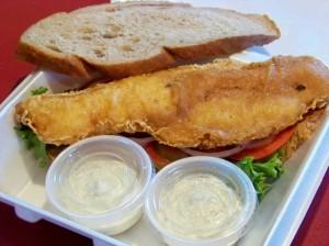 Holy Fish Sandwich