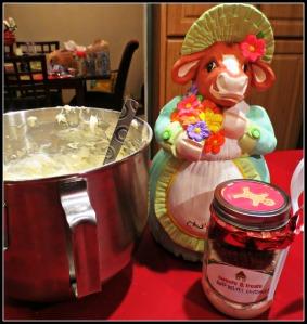 Bessie helps bake 2