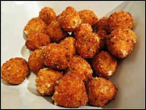 Fried Mozz Balls