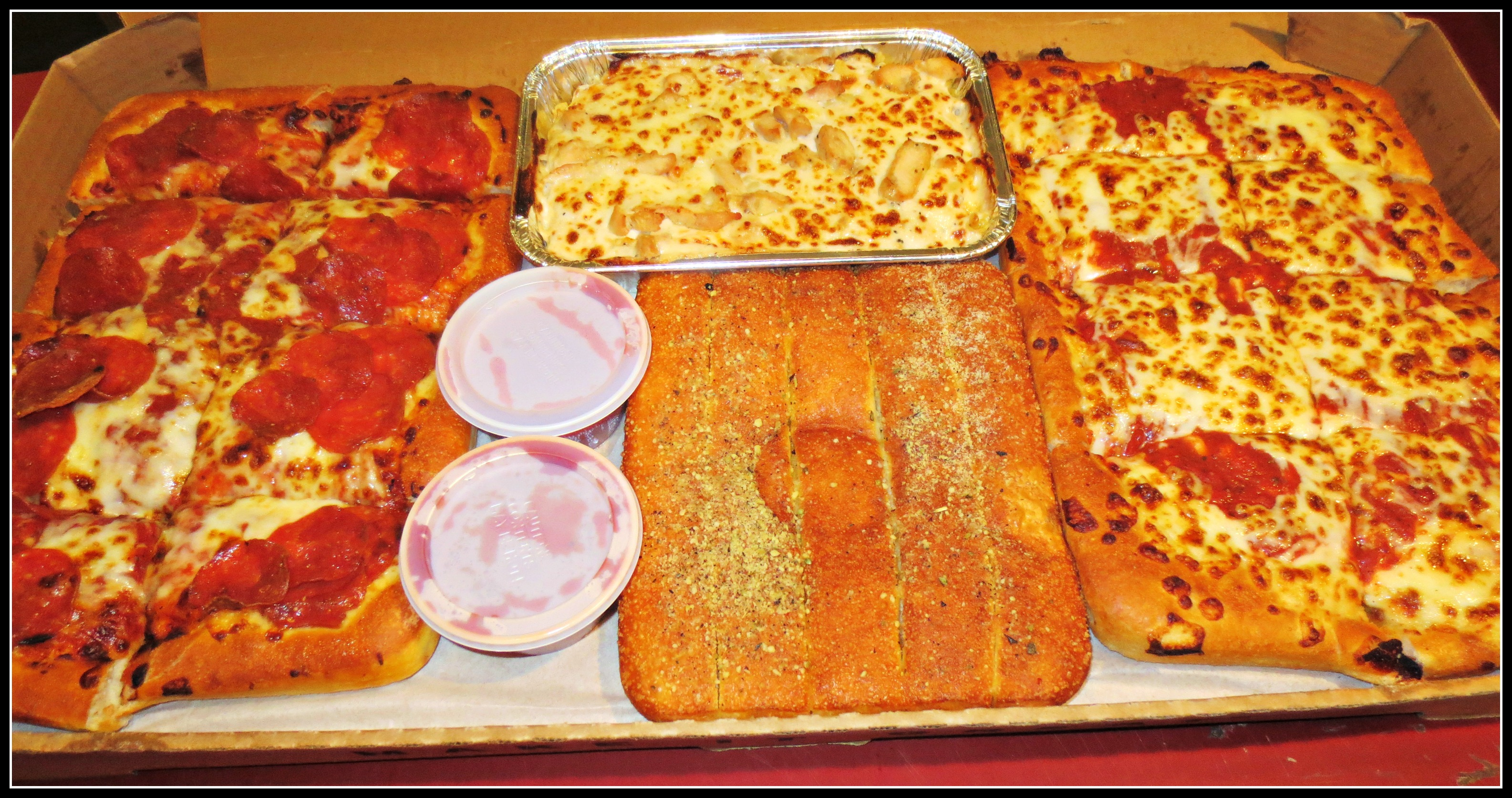 Pizza Hut Box & Thumbu0027s Up | The Ravenous Princess Aboutintivar.Com