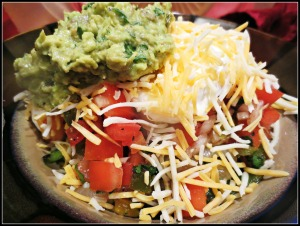 Healthy Dinner Burrito bowl
