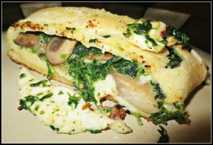 NY Day Veggie Stromboli