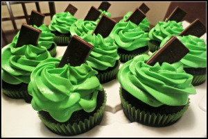 St. Pat's Day Cupcakes