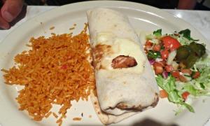 Chuy's Fajita Chicken Burrito