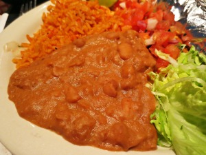 Chuy's refried beans