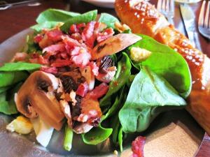 Bier Haus Spinach Salad