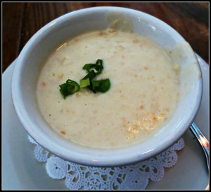 Hurricane Oyster Bar Crab Lobster Soup