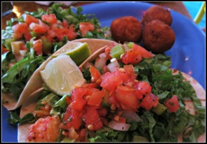 Hurricane Oyster Bar Lobster Tacos