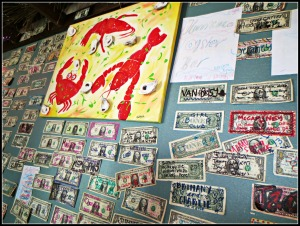 Hurricane Oyster Bar Wall