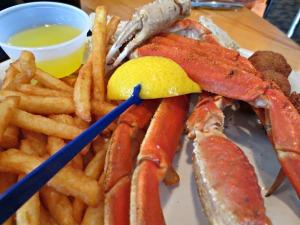 Rick's crab legs