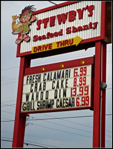 Stewby's Sign