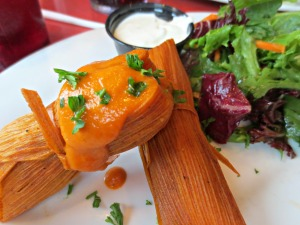 Stinky's crawfish tamales