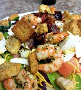Vacation shrimp sal