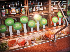 Lime Salsa bar