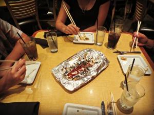 Chopsticks ready