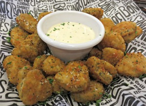 Smokey Bones Fried Pickles