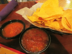 Crab Island Cantina Chips and Salsa