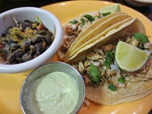 Grin go's fish tacos
