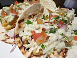 Groovy Grouper Fish Tacos