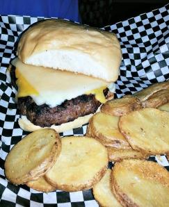 O'Quigley's burger
