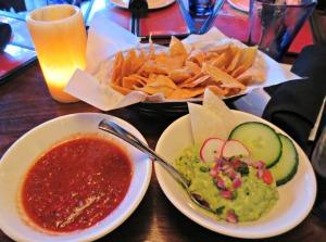 Nada chips, guac and salsa