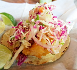 Bakers fish taco
