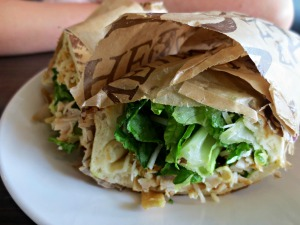 Noodles Spicy Chicken Caesar Wrap