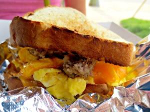 Camille's breakfast sandwich