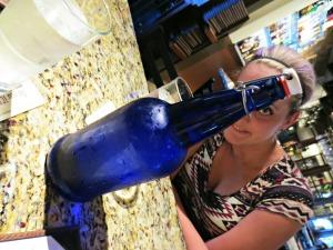 Cuvee Water Bottle Photobomb