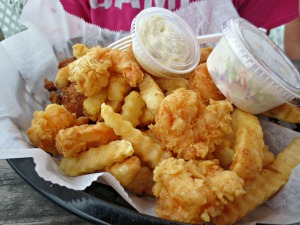 Dewey Destin 1 Fried Shrimp