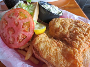 Floyd's fish sandwich