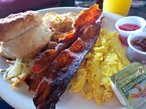 Harbor Docks breakfast