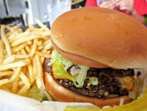 Hartell's burger