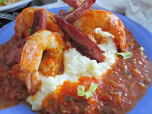 Hurricane Oyster Bar Shrimp and Grits