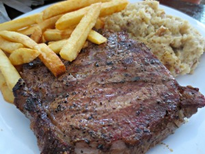 Hurricane Oyster Bar Steak