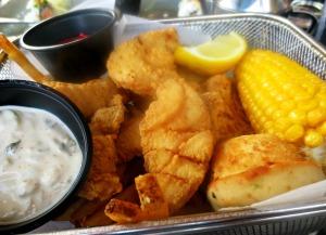 Jackacudas fried fish