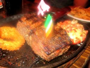 McGuire's steak