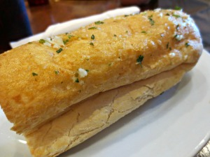 Stinky's garlic bread