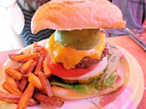 Terry's Turf Club My burger