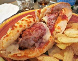 Betta's Italian Sausage Hoagie
