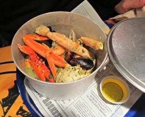 Bubba Gump Shrimp Pot
