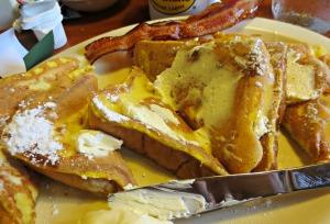 Flapjacks french toast