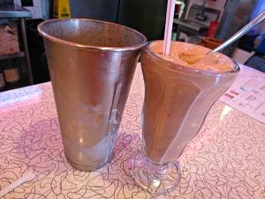 Mel's milkshake