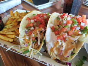 Brotula's shrimp tacos