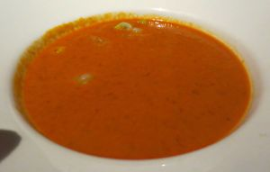 Cuvee Shrimp and tomato bisque