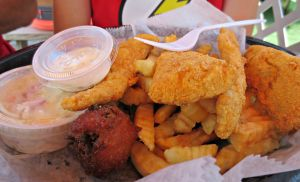 Dewey Destin Fried Fish