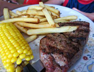 Elmo's steak