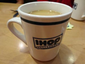 IHOP coffee cup