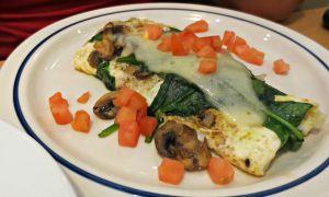 IHOP veggie omelette
