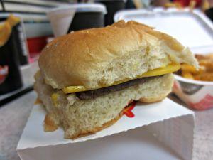 Krystal Cheeseburger